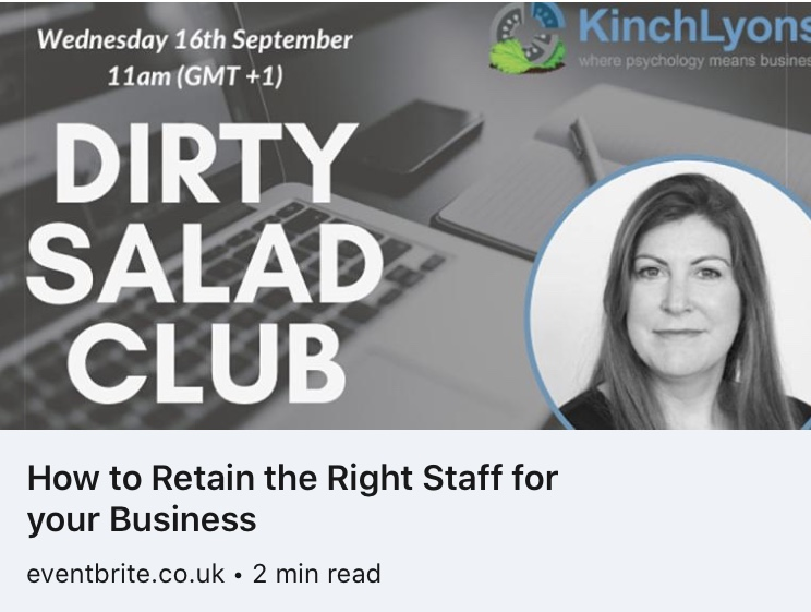 Dirty Salad Club - How to Retain the Right Staff for your Business