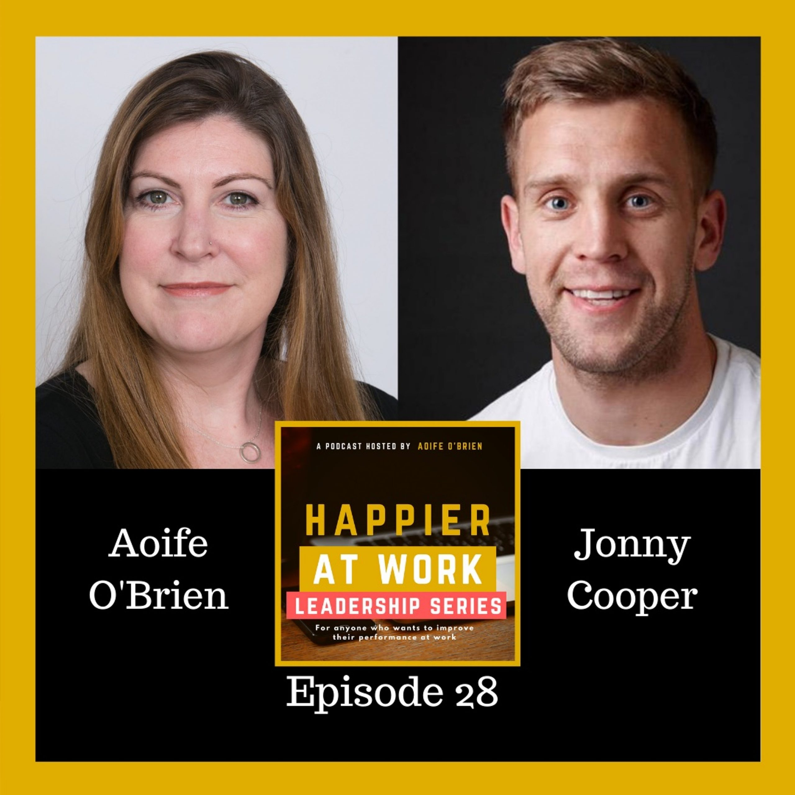 Happier at Work podcast Jonny Cooper