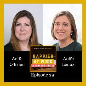 Happier at work Aoife Lenox